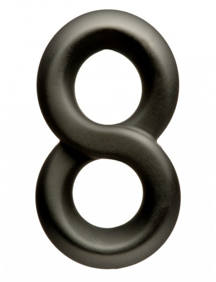 Figure Eight Silicone Cock Ring
