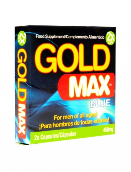 Erection Capsule Gold Max • 2 capsules