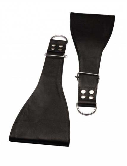 Leather Boot Restraints • Black
