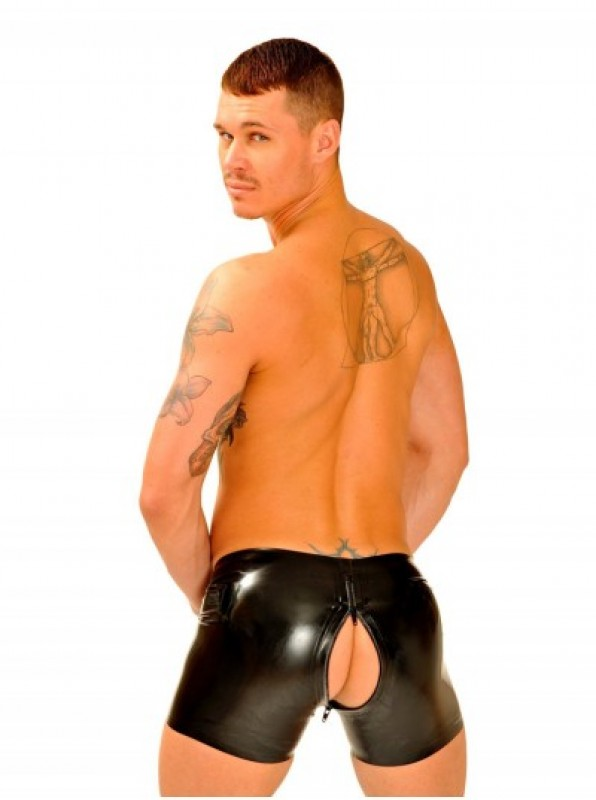 Fist Rubber Boxer Shorts • Thru Zip
