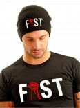 Fist Beanie Hat • Black