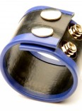 SMALL RUBBER BALL STRETCHER •BLUE